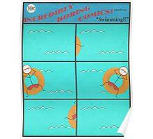 """Incredibly Boring Comics!! #4 - """"Swimming"""" Poster"""