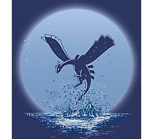 The Guardian of the Sea - Lugia Pokemon Photographic Print