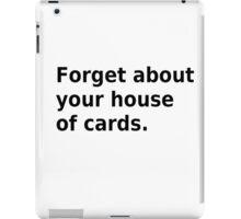 Radiohead, house of cards iPad Case/Skin