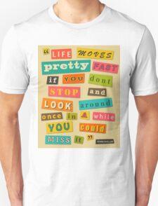 Ferris Bueller Quote - Beige Unisex T-Shirt