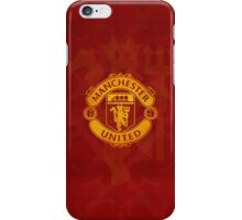 manchester united yellow gold iPhone Case/Skin