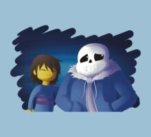 UNDERTALE - Sans and Frisk Kids Clothes