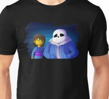 UNDERTALE - Sans and Frisk Unisex T-Shirt
