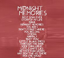 Midnight Memories by samonstage
