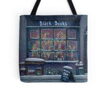 Black Books Christmas Tote Bag