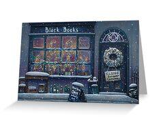 Black Books Christmas Greeting Card