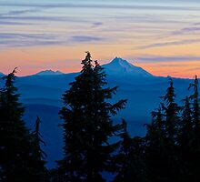 Oregon Sunset by John Butler