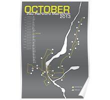 Hartford Marathon Map Poster