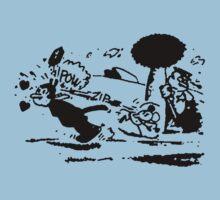 Krazy Kat & Ignatz Pulp Fiction by Aquilius