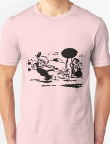 Krazy Kat & Ignatz Pulp Fiction T-Shirt