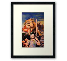 Finn The Butcher Framed Print