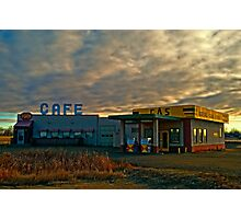 Corner Gas Photographic Print