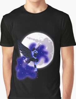 Nightmare Moon- Mare On The Moon Graphic T-Shirt