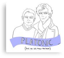 Just Platonic?  Canvas Print
