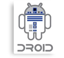 (An)Droid Canvas Print