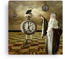 Father Time... Canvas Print