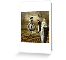 Father Time... Greeting Card