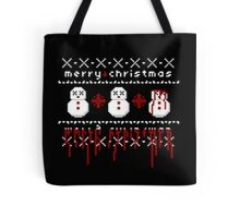 Jolly Bloody Snowman Tote Bag