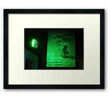 Ships Sailing the Seas Framed Print