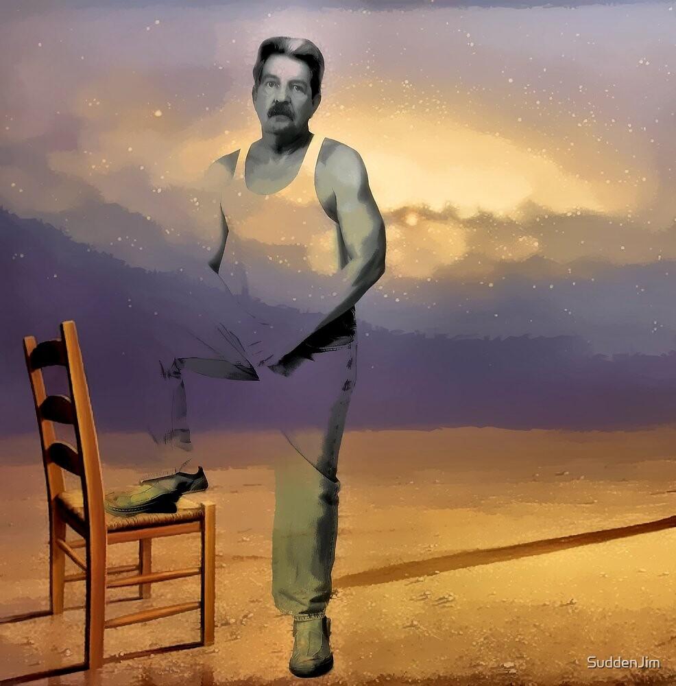 Cosmic Chair by SuddenJim