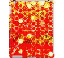 digital honeycomb iPad Case/Skin