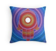 Hamsa- Protection against the Evil Eye Throw Pillow