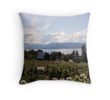 Pyramid Winery Throw Pillow