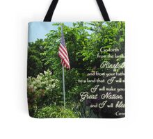 Great Nation Bless You Tote Bag