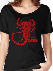 scorpio. Women's Relaxed Fit T-Shirt