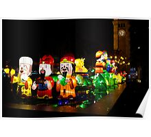 colorful dolls Poster