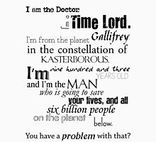 Doctor Ten's Speech Unisex T-Shirt