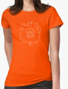 Yoga cats Womens Fitted T-Shirt