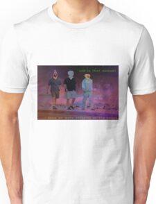 Steppin on the beach Unisex T-Shirt