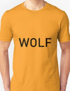 Wolf of Wall Street Logo font Unisex T-Shirt