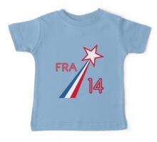 FRANCE STAR Baby Tee