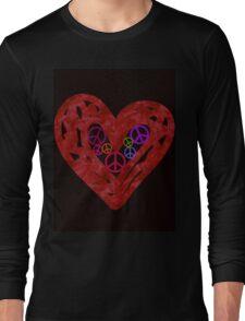 Heart Full Of Peace Long Sleeve T-Shirt