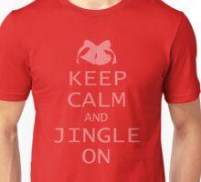Keep Calm and Jingle On Unisex T-Shirt