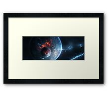 The Edge of Darkness Framed Print