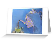 I'm a little teapot... Greeting Card