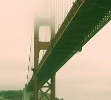 Retro San Francisco Bridge by Roland Apostol