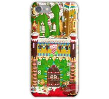 Gingerbread Village Study 2  iPhone Case/Skin