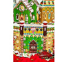 Gingerbread Village Study 2  Photographic Print