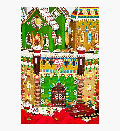 Gingerbread Village Study 2  Photographic Print
