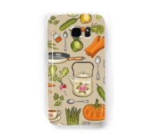 Retro kitchen. Samsung Galaxy Case/Skin