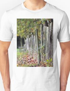 Every leaf speaks bliss to me, Fluttering from the autumn tree... Unisex T-Shirt