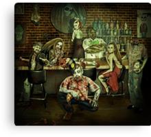 The Zombie Room Canvas Print