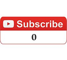 YouTube Zero Subscribers by SKpixel