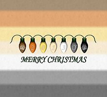 2013 Gay Bear Pride Christmas Lights  by LiveLoudGraphic