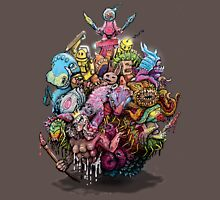 Monster Art Ball T-Shirt