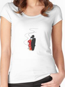 Mood Women's Fitted Scoop T-Shirt